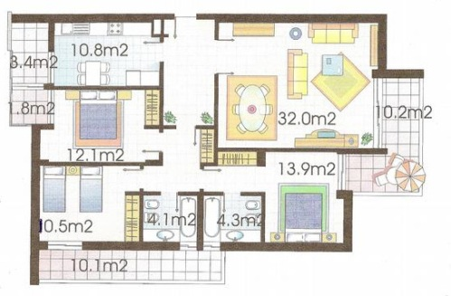 Our apartment floorplan