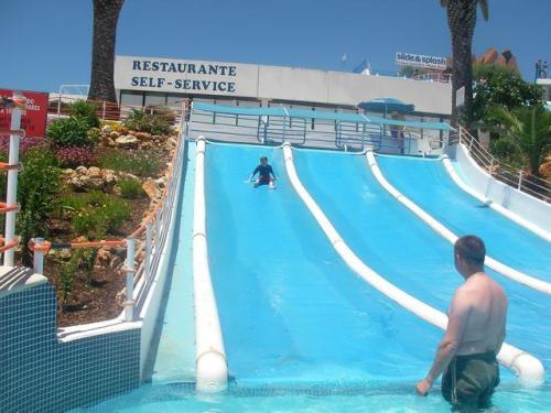 Eliot on slide