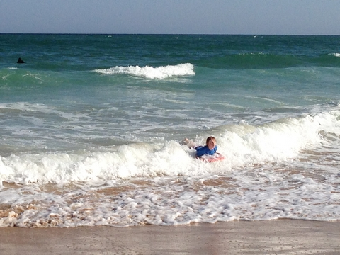Eliot body boarding